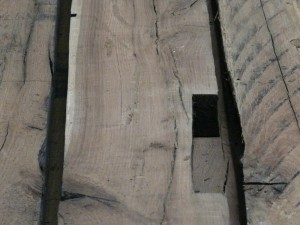 Orig. hist. Eichenholz 52mm 1