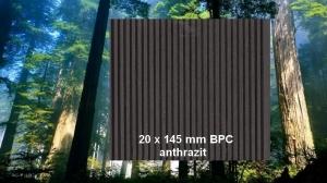 20 x 145 mm BPC Terrassendiele anthrazit