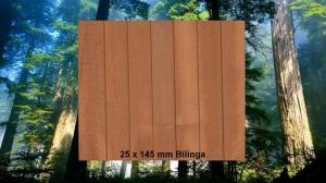 25 x 145 mm Bilinga Terrassendiele