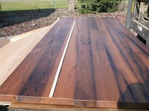 orig. hist. Eichenaltholz Tischplatte 3