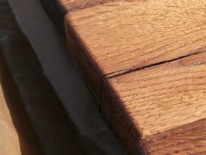 orig. hist. Eichenaltholz Tischplatte 4