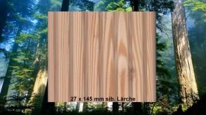27 x 145 mm sib. Lärche Terrassendiele
