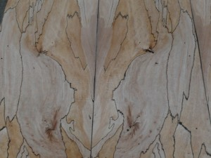 Marmorbuche Furnier, gestürzt
