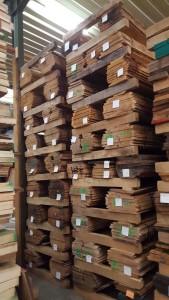 Neuankünfte Eichen Blockware in 27, 35, 52 und 65 mm Stärke, 10-2015