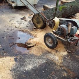 Eichen Furnier und Schnittholz