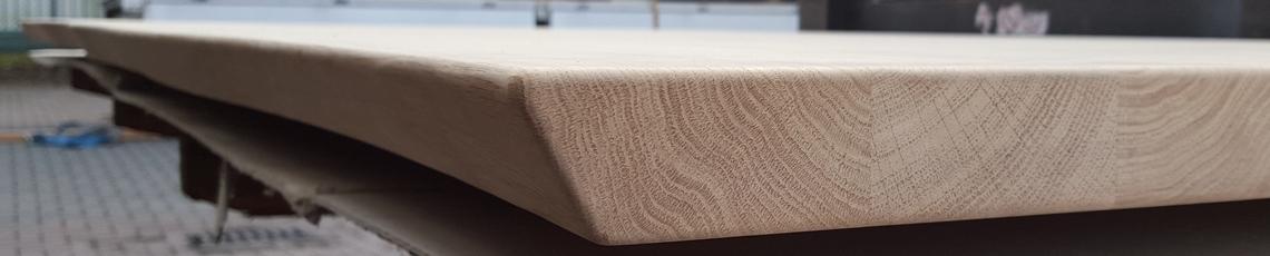 Tischplatte CNC - bearbeitet