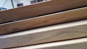 CNC gefräste Baumkante