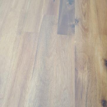 Sonderposten – Leimholzplatten Akazie geölt