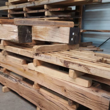 Beautiful oak beams